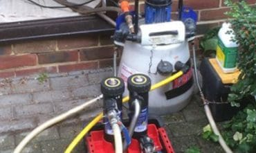 Power Flushing Pristine Plumbers Twickenham